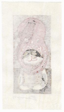 Octopus on a Cat, 2017 by Motoi Yanagida (born 1940)