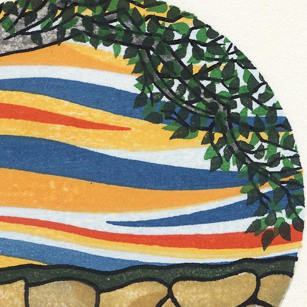 Persimmon Tree - Summer, 1986 by David Stones (born 1945)