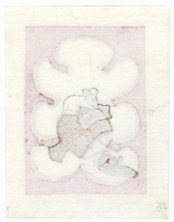 Edo Daikoku Bookplate, 2019 by Motoi Yanagida (born 1940)